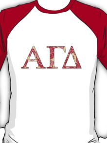 Alpha Gamma Delta - Krass & Co. Pattern 3 T-Shirt