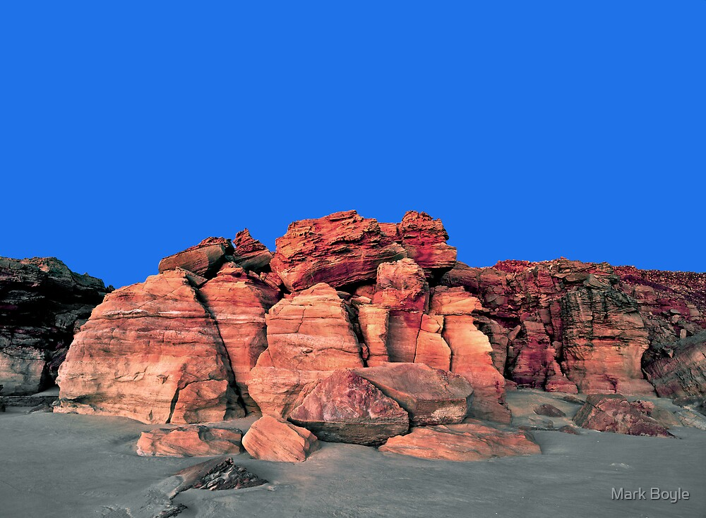 Red Cliffs Evening, Cape Leveque by Mark Boyle