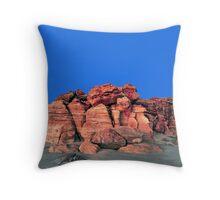 Red Cliffs Evening, Cape Leveque Throw Pillow