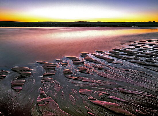 Tide Lines, Hunters Creek, Cape Leveque by Mark Boyle