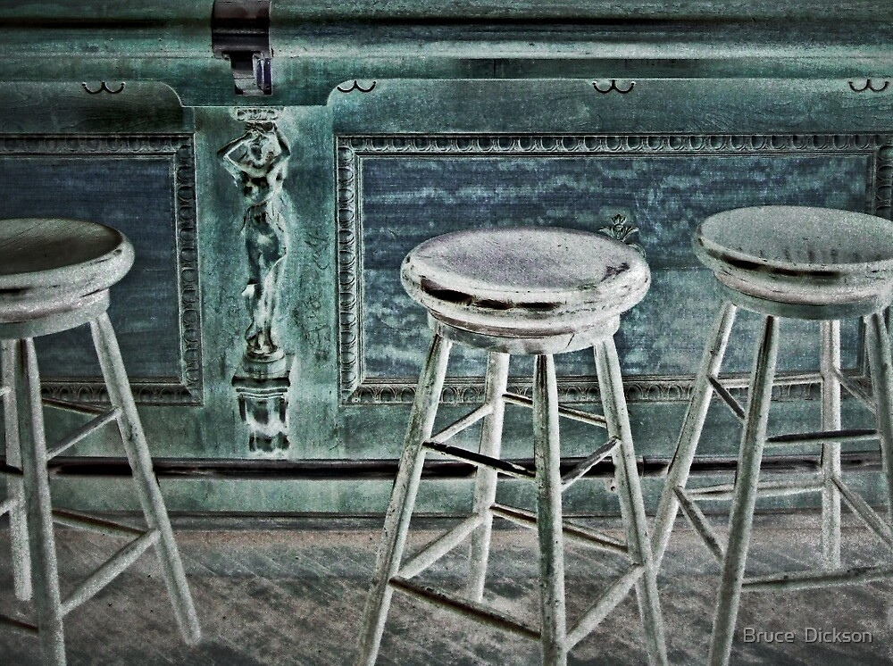 stools by Bruce  Dickson