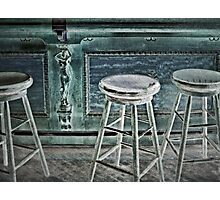stools Photographic Print