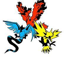 Legendary Birds by CrazyTigerLady