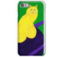 Kronos Cat iPhone Case/Skin