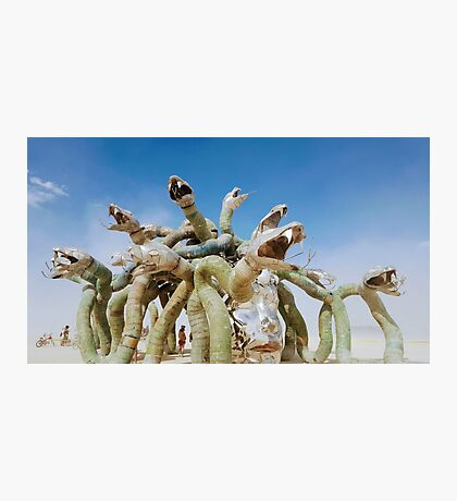 Monsters on the Playa Photographic Print