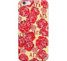 Alpha Gamma Delta - Pattern iPhone Case/Skin