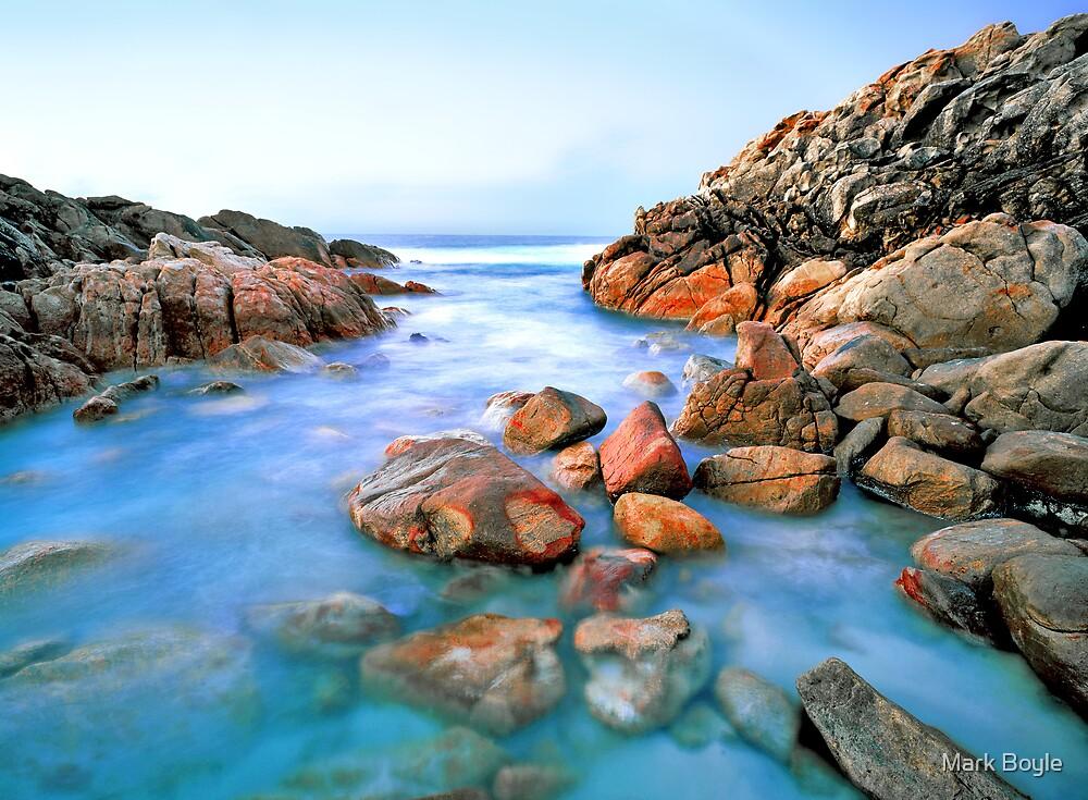 Small Cove at Wyadup Rocks, Yallingup, WA by Mark Boyle