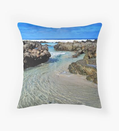 Wave Motion #2 Throw Pillow
