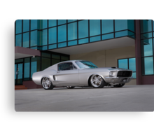 67 Ford Mustang Fastback Canvas Print