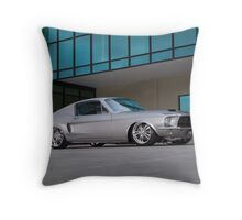 67 Ford Mustang Fastback Throw Pillow