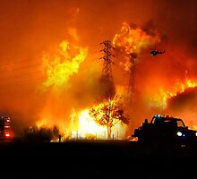 Australian Bushfires by rossco