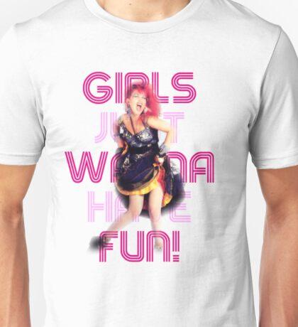 Cyndi Lauper - Girls Just Wanna Have Fun Unisex T-Shirt