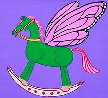 Rocking Horse-Fly by Lev7