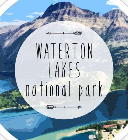 Waterton Lakes National Park Sticker