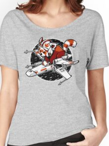 Red Panda, Standing By Women's Relaxed Fit T-Shirt