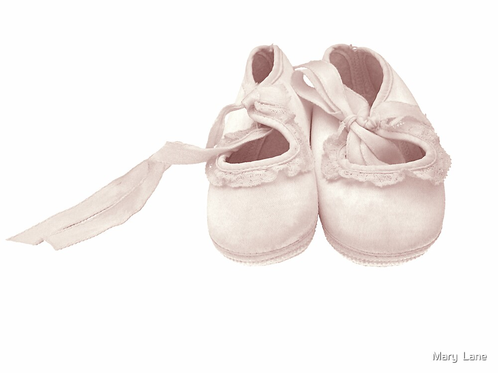 Baby Shoes by Mary  Lane