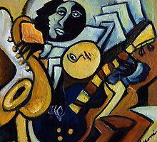 Indigo Blues by galerievie