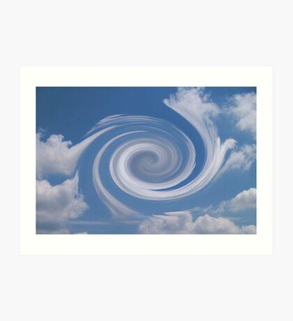 Hurricane Vortex In Sky Art Print