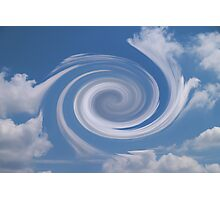 Hurricane Vortex In Sky Photographic Print
