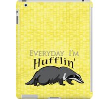 Everyday I'm Hufflin' iPad Case/Skin
