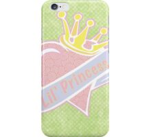 Lil' Princess iPhone Case/Skin