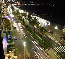 Promenade des Anglais, Nice France by Paul Playford