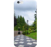 The Chequered Path iPhone Case/Skin