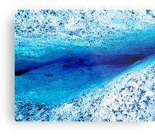 Ice Canyon Metal Print