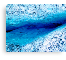 Ice Canyon Canvas Print