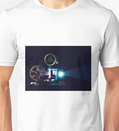 ":Rus"" 8mm film projector Unisex T-Shirt"