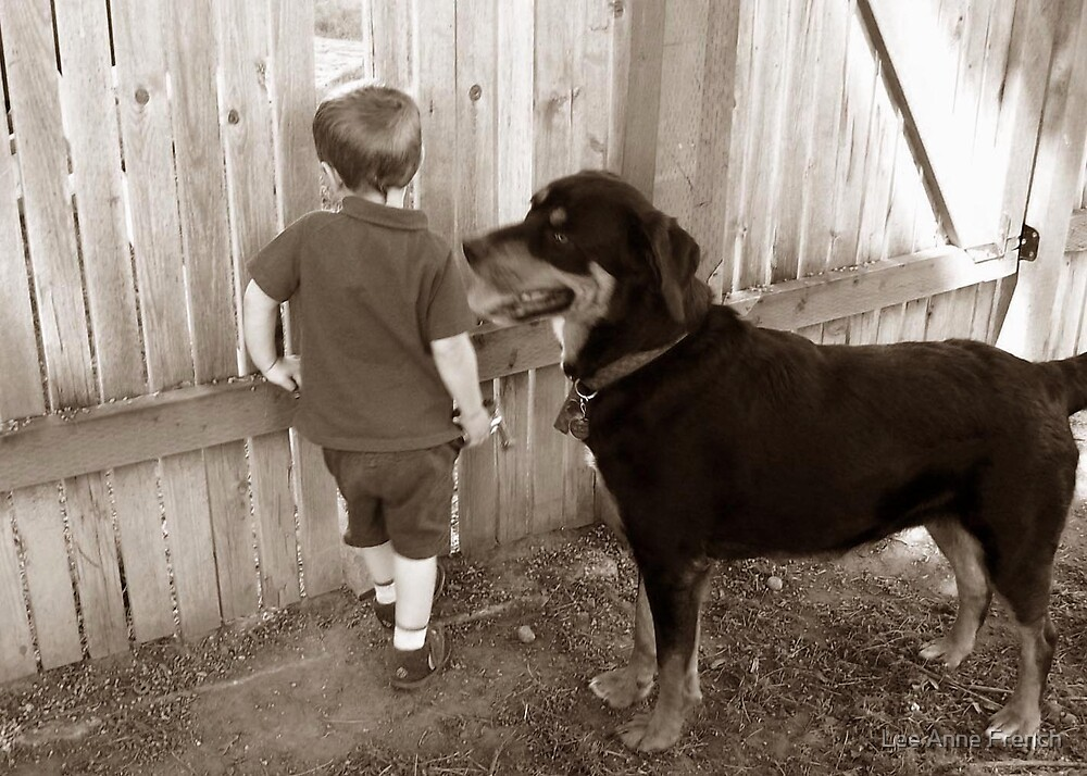 A Boy and His Dog by Lee Anne French