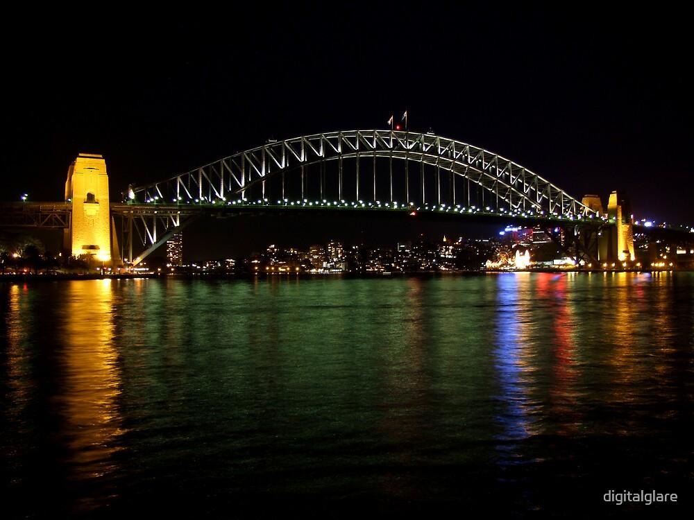 Sydney Harbour Bridge by digitalglare