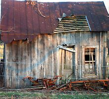 old farm house by woody42tn