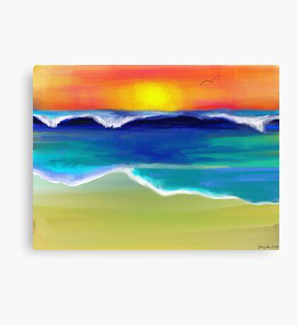 The Ocean Dance Canvas Print