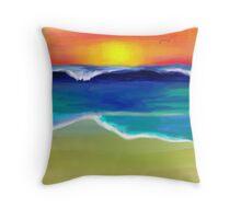 The Ocean Dance Throw Pillow