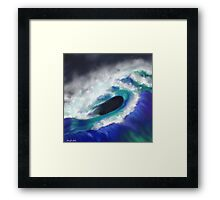 The Ocean Moves Framed Print