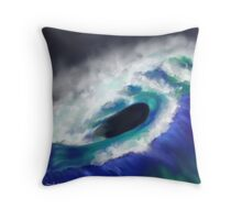 The Ocean Moves Throw Pillow