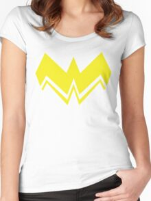 Super Hero Girl Women's Fitted Scoop T-Shirt
