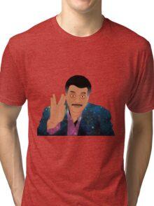 "Galaxy ""Live Long and Prosper"" Neil deGrasse Tyson Tri-blend T-Shirt"