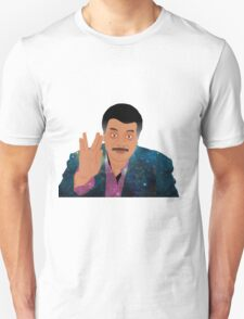 "Galaxy ""Live Long and Prosper"" Neil deGrasse Tyson Unisex T-Shirt"