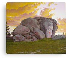 Thunderbolt's Rock Canvas Print