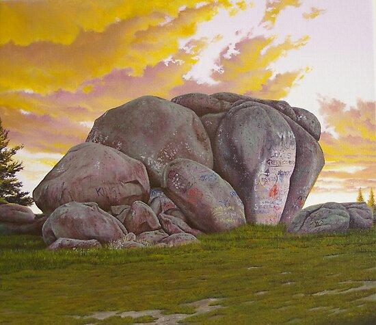 Thunderbolt's Rock by Jason Moad