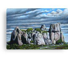 The Outcrop Canvas Print