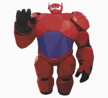 Baymax in armor - Low Poly Kids Clothes