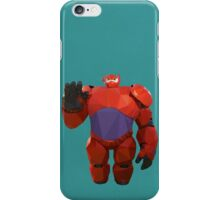 Baymax in armor - Low Poly iPhone Case/Skin