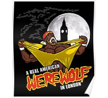 Real American Werewolf Poster