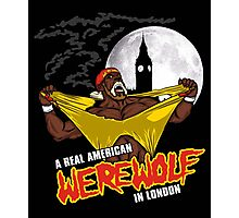 Real American Werewolf Photographic Print
