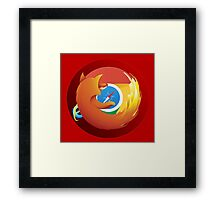 Browser mashup Framed Print
