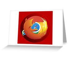 Browser mashup Greeting Card