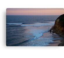 Twilight, Bells Beach Australia,Great Ocean Road Canvas Print